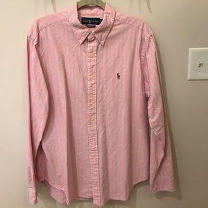 Men's Xl long sleeve Ralph Lauren dress shirt